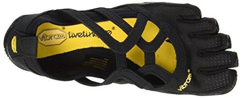 Vibram Loop Multisport black Femme Outdoor Fivefingers Chaussures Alitza Noir BRwqBzr