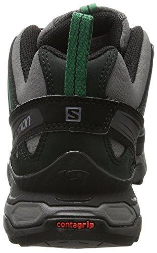 Salomon Mens Ultra Ltr Scarpe Da Trekking E Da Trekking Nere (magnete / Nero / Verde Pino)