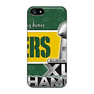 Durable Case For The Iphone 5/5s- Eco-friendly Retail Packaging(green Bay Packers)