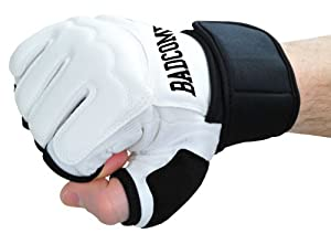 Profi PU FreeFight MMA Handschuhe Modern Lights weiß, M