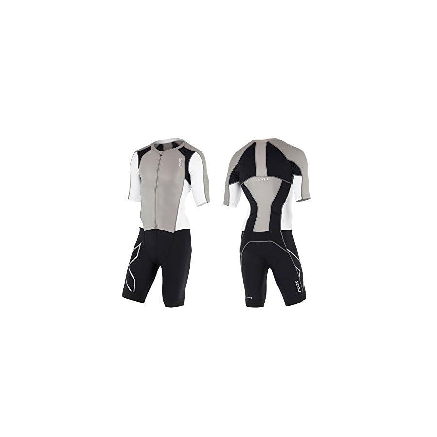 2XU Men's Compression Zip Sleeved Trisuit