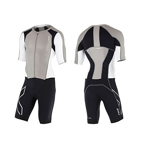 2XU Men's Compression Zip Sleeved Trisuit