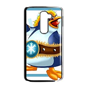 LG G2 Cell Phone Case Black_Donkey Kong Country Tropical Freeze_009 Xuaij