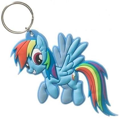 8f377687c Amazon.com  My Little Pony Dash Rubber Keychain  Automotive