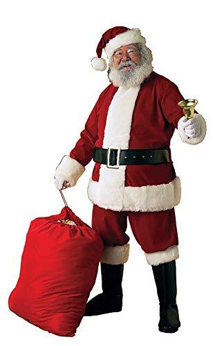 Rubies Costume Co - Deluxe Velvet Santa Suit Adult Costume