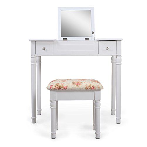 ViscoLogic DRESSING TABLE Vanity WITH STOOL