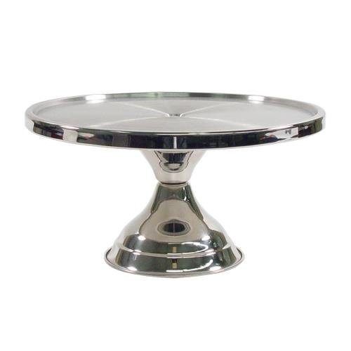 Winco 13inch Stainless Steel Cake Stand CKS-13, Set of 3 by Winco