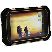 7.0' Rugged Tablet Android4.4 IP68 Waterproof,Shockproof and Dustproof Quad Core CPU HD 1280x800 1GB RAM+16GB ROM 13M Pixels Camera