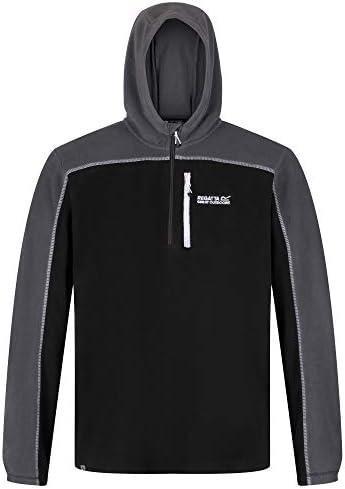 Regatta Teasdale Lightweight Hooded Half Zip Overhead Fleece With Zip Chest Pocket Forro polar Hombre