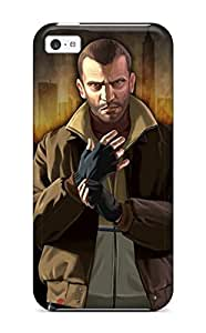 Durable Grand Theft Auto Back Case/cover For Iphone 5c