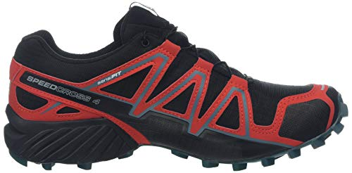 Red Blue Black high Risk Nero Running Trail high Da black Blue Gtx mediterranean Scarpe Uomo Speedcross 4 Salomon ZAqT7n