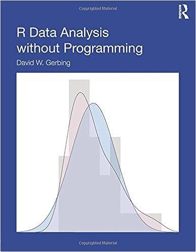 Amazon.com: R Data Analysis Without Programming (9780415657204): David W.  Gerbing: Books