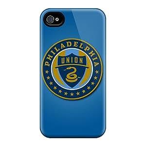 Iphone 4/4s Case Bumper Tpu Skin Cover For Philadelphia Union Accessories