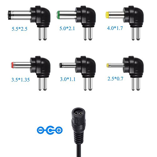 IKOCO 30W Universal AC/DC Adapter Switching Power Supply with Six Adaptor Plugs for 3V to 12V Electronics by IKOCO (Image #2)'