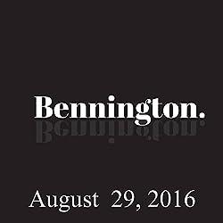 Bennington, August 29, 2016