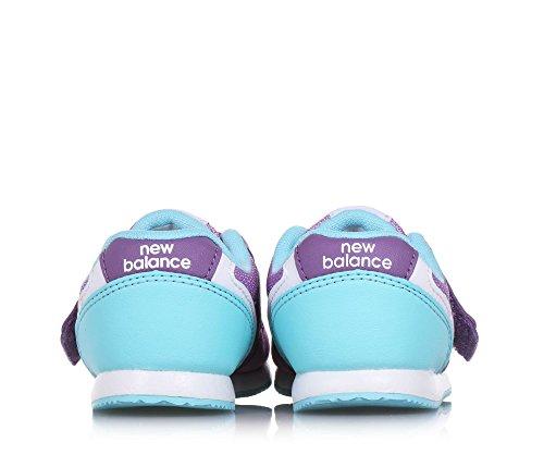 Basket Filles Et 996 New Violet Vs Tissu Fille Infant Balance Violette En Turqoise Microfibre Synthétique Rtqq157w