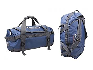 b89ac44aef Discovery Adventures 30 Litre 2 in 1 Holdall Rucksack Travel Sports Gym  Camping Cargo Bag