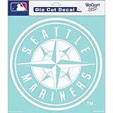 "MLB Seattle Mariners Die-Cut Decal, 8""x8"", Team Color"