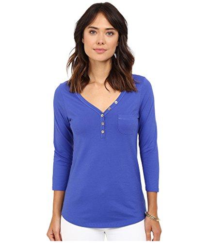 Lilly Pulitzer Women's Palmetto Top Bomber Blue T-Shirt XXS