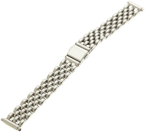 Hadley-Roma Women's LB5442RWSQ 16 Bracelet Link Style Watchband