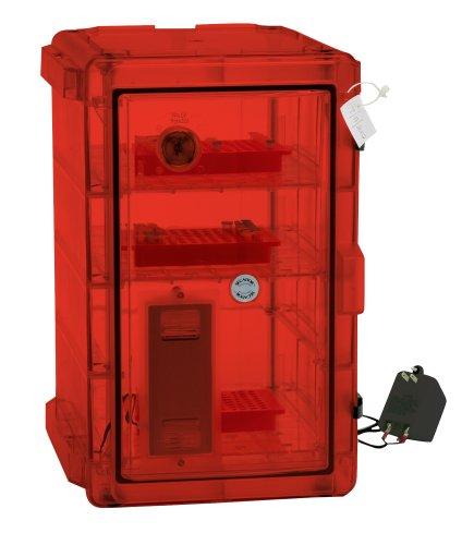 Bel-Art Secador Vertical Profile Amber 4.0 Auto-Desiccator Cabinet; 230V, 1.9 cu. ft. (F42074-1228)