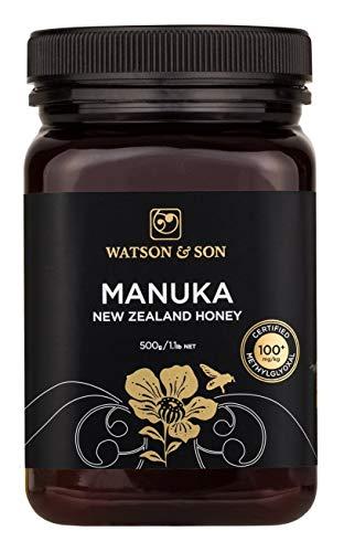 Watson & Son 500 g 5/100 Plus MGS and MGO Manuka Honey by Watson & Son