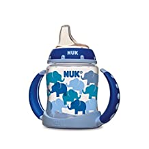 NUK Fashion Elephants Learner Cup in Boy Patterns, 5-Ounce