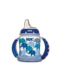 NUK Fashion Elephants Learner Cup in Boy Patterns, 5-Ounce