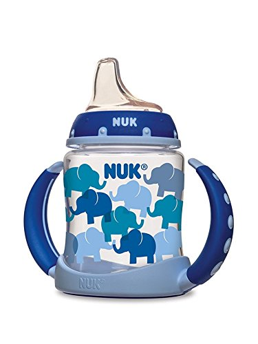 NUK Learner Sippy Cup, Elephants, 5oz 1pk