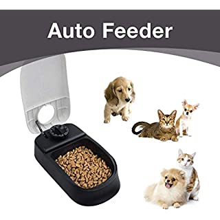 Automatic Pet Feeder for Dogs and Cats - Double Bowl