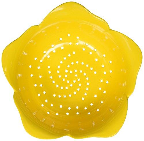 Zak Designs Garden Series 24 oz. Plastic Colanders, Yellow ()