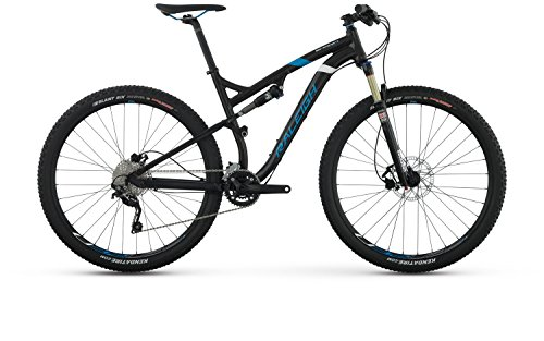 Raleigh Bikes Skarn Sport Full Suspension Mountain Bike Frame, Bicycle, Black, 17