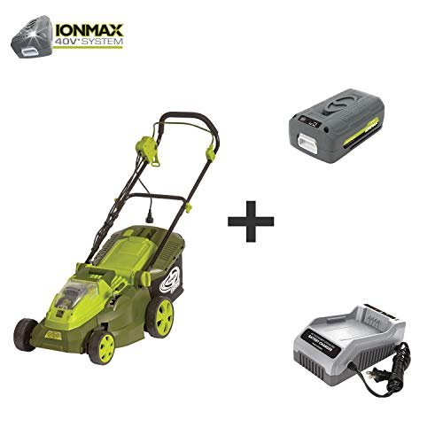 iON16LM-HYB 40V 4.0 Ah Hybrid Cordless or Electric Lawn Mower, 16""