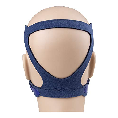 CPAP Headgear Strap CPAP Mask Headgear for Various CPAP Mask Universal Replacement Head Band Bundle Standard Blue