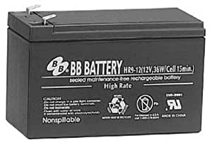 B.B. Battery 9 AH 12V SLA Battery - Genuine B&B Battery brand