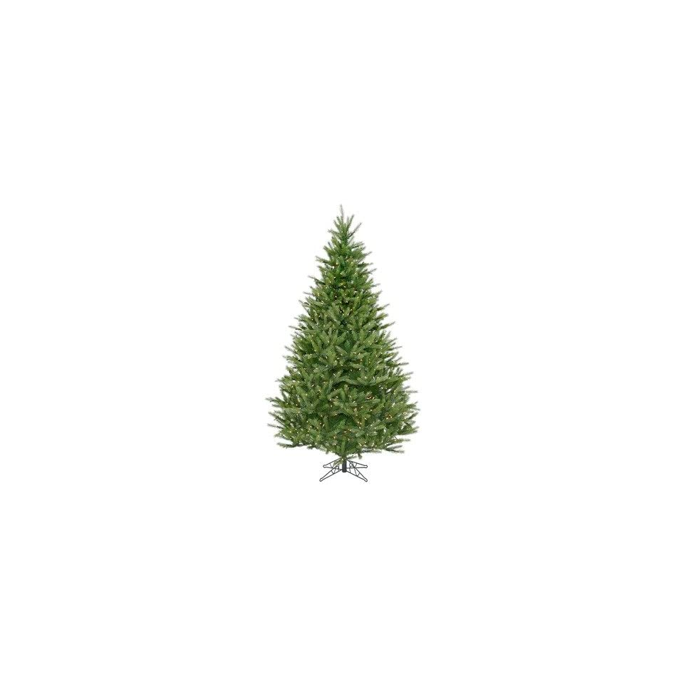 Vickerman A886266 Bavarian Fir 78 Christmas Tree with Clear Lights