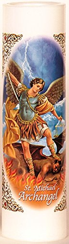 St. Michael Archangel | San Miguel Arcangel | LED Flameless
