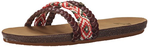 Roxy Women's Casablanca Sandal, Multi, 8 M US