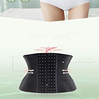 FMM Reduce la Cintura del cómodo Gancho del Abdomen de la Mujer y Las Correas de corpiño livianas para Mostrar la Buena Figura sin Costuras 4 Filas de Hebillas y 6 Filas de Hebillas: Ropa y accesorios