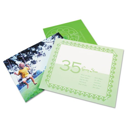 Swingline GBC - SelfSeal Repositionable Laminating Sheets, 3mm., 9 x 12, 10/Pack 3747410 (DMi PK