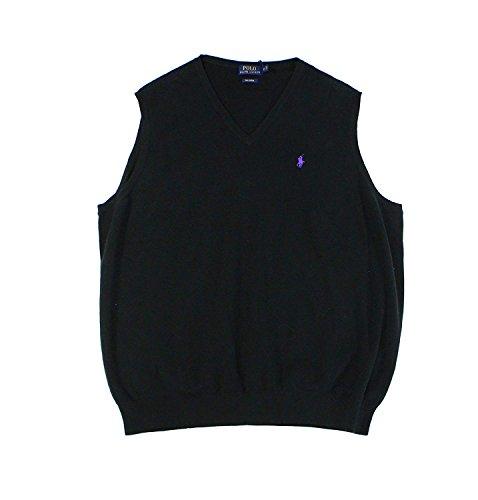 Polo Ralph Lauren Men's Big & Tall Pima Cotton Vest (3XB) (Ralph Lauren Embroidered Vest)