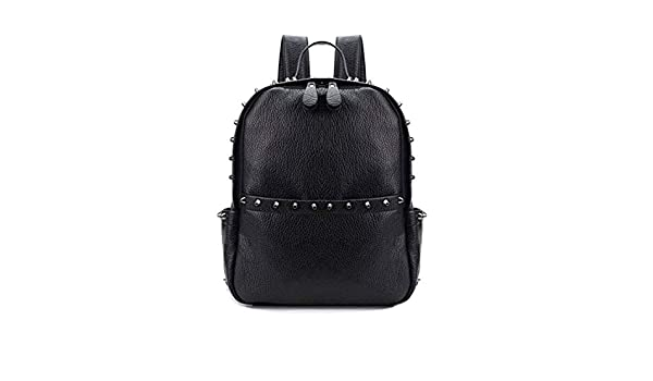 Amazon.com: Brand Women Backpack Pu Leath School Bags Mochilas Mochila Feminina Bolsas Muj Backpacks Rugzak Back Pack Bag 2018,Black,Large-25x32x13: Shoes