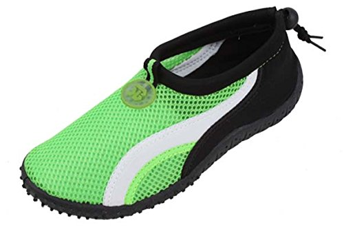 1b5c7029817f66 Image Unavailable. Image not available for. Color: Starbay New Brand  Women's Green Athletic Water Shoes ...