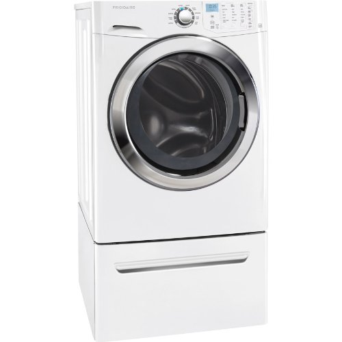 Frigidaire FFFS5115PW3.9 Cu. Ft. Classic White Stackable With Steam Cycle Front Load Washer - Energy Star