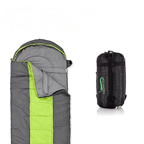 Newdora Broadened Sleeping Bag 85CM Width Envelope Lightweight Portable Mummy Sleeping Bag, Waterproof, Great For 4 Season Traveling, Camping, Hiking, Outdoor Activities(Single)