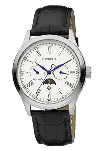 ORPHELIA Men's Multi Dial Joyce Brown Leather-71600