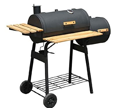 """48"""" Backyard Charcoal Grill with Wheels"""
