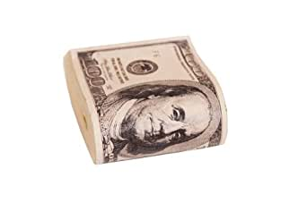 Fake Money Clip Bundle Cash 100$ Bills Gangster Costume Accessory
