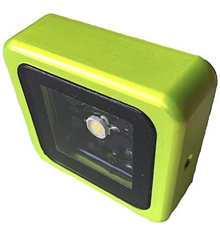 OGM KIS LED Light - Green Housing with Neutral White LED by OGM