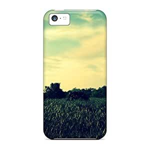 Protection Cases For Iphone 5c / Cases Covers For Iphone(emerald Fields)